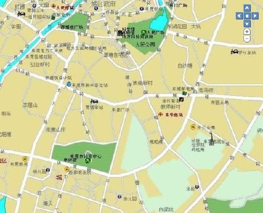 广东旅游地图_广东旅游景点分布
